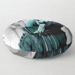 Labyrinth Scorn Floor Pillow