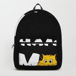 Hamster Mama Hamsterrad Hamsterkäfig Backpack