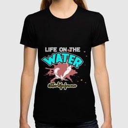 Water Skiing Ski Skiers Sailing Water Sports Gift  T-shirt