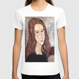 Amedeo Modigliani - Portrait of Jeanne Hébuterne in profile T-shirt