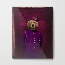 Lobby Bear Metal Print