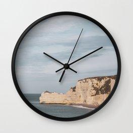 Étretat #4 Wall Clock