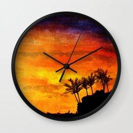 Caribbean Wall Clock