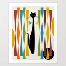 Mid-Century Modern Art Cat 2 Kunstdrucke
