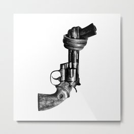 No guns Metal Print