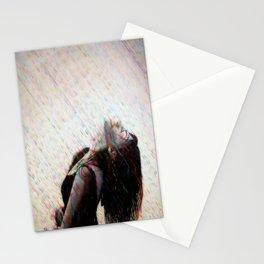 Enjoying Rain Stationery Cards