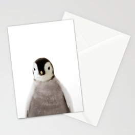 Penguin Chick Art Print by Zouzounio Art Stationery Cards