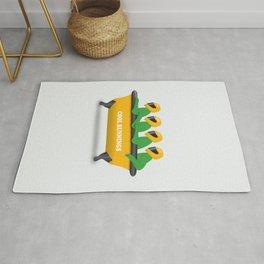 Cool Runnings - Alternative Movie Poster Rug