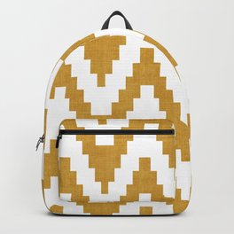 Twine in Yellow Backpack