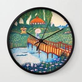 Koizumi Kishio - Horikiri Acorus Calamus - Digital Remastered Edition Wall Clock