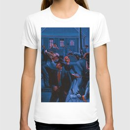 African-American Classical Masterpiece Gettin' Religion by Archibald Motley T-shirt
