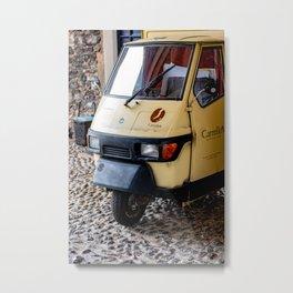 Mobile coffee bar Metal Print