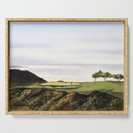 Torrey Pines South Golf Course Hole 3 Serving Tray