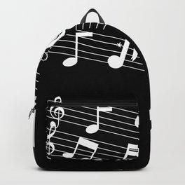 music love Backpack