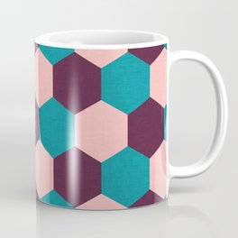 Honeycomb Pattern Coffee Mug