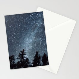 Milky Way in the Woods | Nature and Landscape Photography Stationery Cards