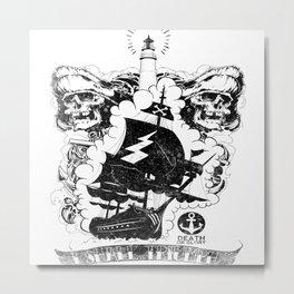 Death Or Glory Metal Print