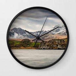 Snowdon Horseshoe Winter Wall Clock