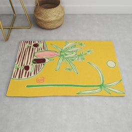 CONVERSATION BY THE SEA Rug