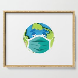 Tired Earth Serving Tray