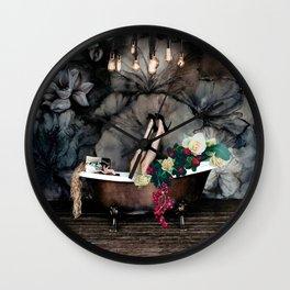 Bath Dream Wall Clock