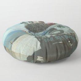 ALPACA WANDERLUST II SUMMER EDITION Floor Pillow