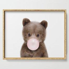 Bubble Gum Bear Cub Serving Tray