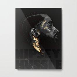 Nipsey Hussle Hiphop Rapper01 Metal Print
