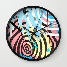 Habitual Rituals Wall Clock