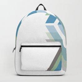 Triangulate - A geometric pattern design Backpack