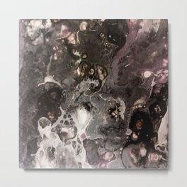 Purple toasted smoke Metal Print