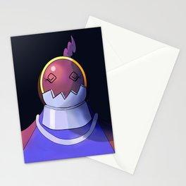 Defender Heartless Girl Stationery Cards
