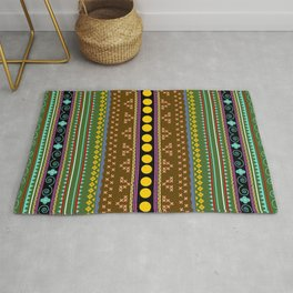 African texture Rug