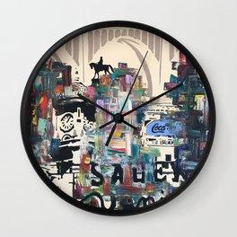 Richmond Blues Wall Clock