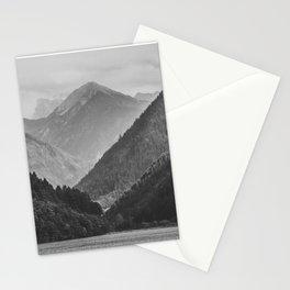 Wild mountain landscape Stationery Cards
