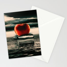 der rote Apfel Stationery Cards