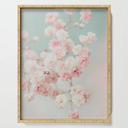 Gypsophila pink blush ll Serving Tray