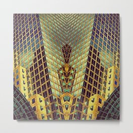 Art Deco Metal Print