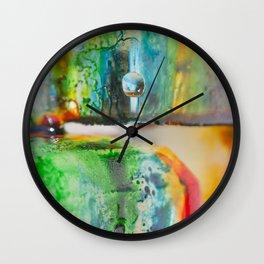 harmony in ice Wall Clock