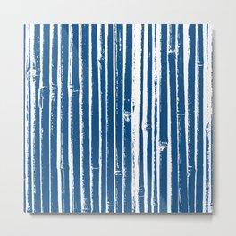 [ Bamboo texture ] Metal Print