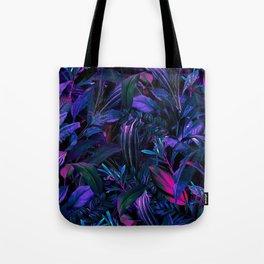 Future Garden Tropical Night Tote Bag
