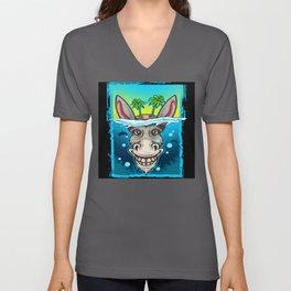 Beach Donkey Unisex V-Neck