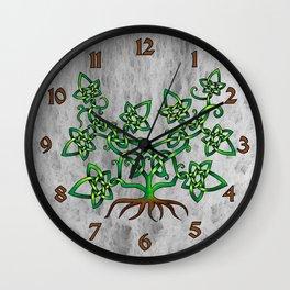 Ivy Knot Wall Clock