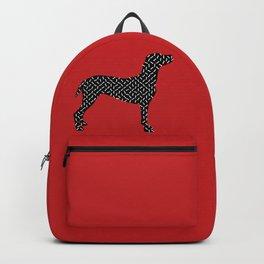 the greedy dog Backpack