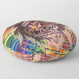 The Potent Lion Floor Pillow