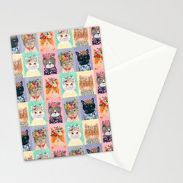 Cat land Stationery Cards