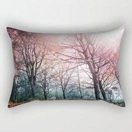 Warming Up Rectangular Pillow