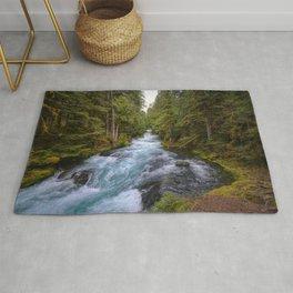 Mc Kenzie River Landscape Rug