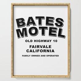 Psycho inspired Bates Motel logo Serving Tray