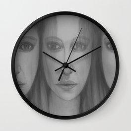 Confusion by Saribelle Rodriguez Wall Clock